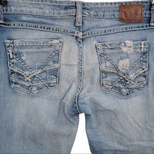 BKE Sabrina Bootcut Distressed Light Wash Jeans